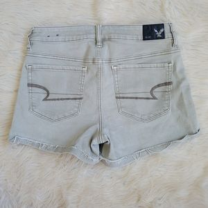 American Eagle Shorts Olive High Rise Shortie